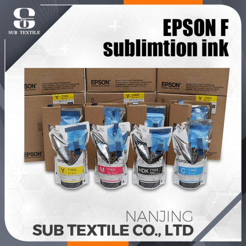 Epson High Quality Original Sublimation Ink 4 COLOR (C.M.Y.BK) Fabricación Proveedor